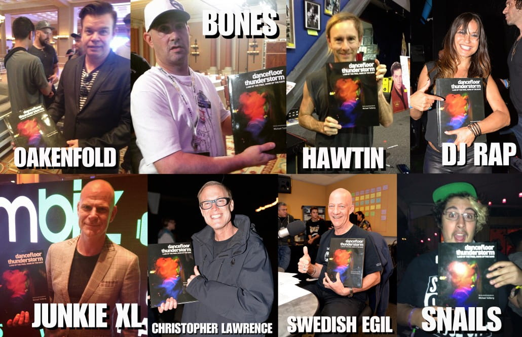 Legendary DJs love DANCEFLOOR THUNDERSTORM! Paul Oakenfold, Richie Hawtin, Frankie Bones and many more!!