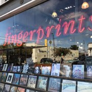 Fingerprints on Long Beach!